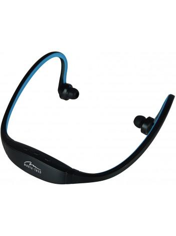 Casti Bluetooth Sport Media-Tech 3Motion BT, Microfon Integrat, Negru/Albastru