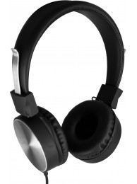 Casti cu Microfon Media-Tech ATOMIC Mobile, Stereo, Difuzoare 40 mm, Design Pliabil, Negru
