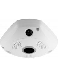 Camera IP Media-Tech Cloud IP, 360 grade, Lentila Fisheye