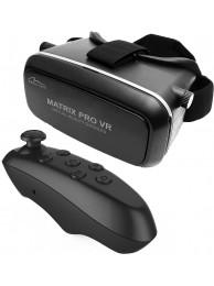 Ochelari Media-Tech Matrix PRO VR pentru SmartPhone cu ecran de pana la 6 inch, KIT (Include: Controller Media-Tech Trigger BT MT5511)
