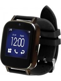 SmartWatch Media-Tech Motive GSM, 2G, Bluetooth 3.0, Camera Integrata, Pedometru, Alarma, Calculator, Monitorizare Somn, Alerta Anti-Pierdere, Vibratii, Compatibil Android 4.2+, Negru