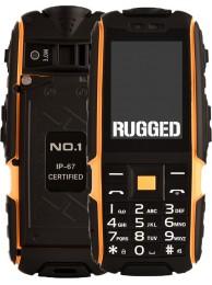 """Telefon Dual SIM NO.1 A9, Ecran LCD 2.4"""", Acumulator 4800 mAh, Portocaliu"""