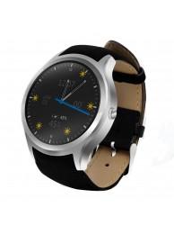 SmartWatch NO.1 D5+, 3G, Bluetooth 4.0, GPS, Android 5.1, Argintiu (Functie Telefon)