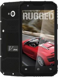 "SmartPhone V-Phone M3, Dual SIM, 4G LTE, Ecran 5"" HD (Gorilla Glass 3), 4core 1.3 GHz, 2GB + 16GB, Standard de rezistenta la conditii extreme IP68, 13 MPx, Negru"