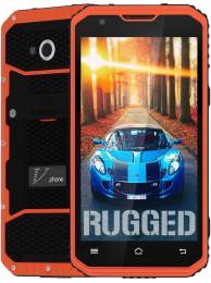 "SmartPhone V-Phone M3, Dual SIM, 4G LTE, Ecran 5"" HD (Gorilla Glass 3), 4core 1.3 GHz, 2GB + 16GB, Standard de rezistenta la conditii extreme IP68, 13 MPx, Portocaliu"