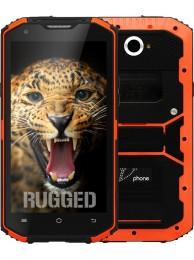 "SmartPhone V-Phone X3 (X2i), Dual SIM, 4G LTE, Ecran 5.5"" HD, Quad Core 1.3 GHz, Standard de rezistenta la conditii extreme IP68, 13 MPx, Portocaliu"