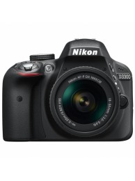 Nikon D3300 cu Obiectiv 18-55mm AF-P Fara Stabilizare, Negru