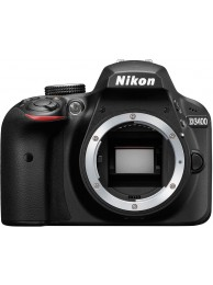 Nikon D3400, Format DX, 24.2 MPx, Full HD Video, Negru, Body