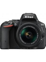 Nikon D5500 cu Obiectiv 18-55mm AF-P VR, negru