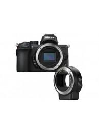 Aparat Foto Mirrorless Nikon Z50  21MP Video 4K Body + Adaptor FTZ