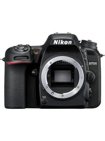 Aparat Foto DSLR Nikon D7500, Body, Negru