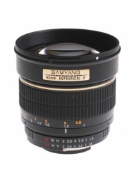 Samyang 85mm f/1.4 Aspherical IF focalizare manuala - pentru Nikon