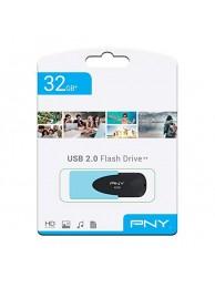 Memorie USB PNY Attache 4 Pastel, 32GB, USB 2.0, Albastru