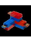 PNY LEGO USB Flash, Pachet 2 X 8GB, USB 2.0