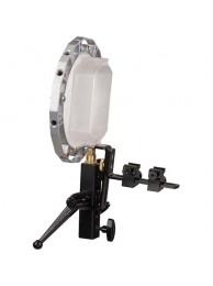 Photoflex dispozitiv prindere pentru blitz si softbox, cu conector pentru softbox
