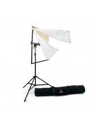 Photoflex Kit Panou de Difuzie/Reflexie 99 x 99 cm cu Stativ 234 cm