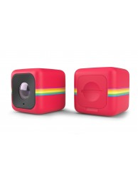 Polaroid CUBE Plus, Camera Video de Actiune pentru Sporturi, HD 1080p, 8MPx, WiFi, Stabilizator Imagine, Rosu