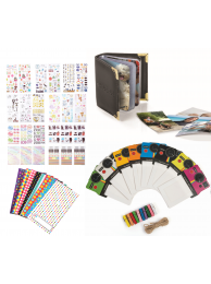 KIT 100 Rame Decorative Polaroid + 9 Seturi Decorative Polaroid + Album Foto Polaroid + Set Rame Foto Polaroid