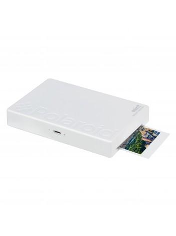 Camera Foto Instant si Imprimanta Polaroid Mint, cu Hartie Zink 2x3 inch, 16Mp, Alb