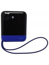 Aparat Foto Instant Polaroid POP, Ecran LCD 3.97 inch, Rezolutie 20 MPx, Video 1080p, Wireless, Bluetooth, Imprimare 3x4 inch, Tehnologie de Imprimare Zero INK, Albastru (Include: Pachet 10 Hartii Foto ZINK)