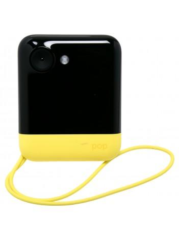 Aparat Foto Instant Polaroid POP, Ecran LCD 3.97 inch, Rezolutie 20 MPx, Video 1080p, Wireless, Bluetooth, Imprimare 3x4 inch, Tehnologie de Imprimare Zero INK, Galben (Include: Pachet 10 Hartii Foto ZINK)