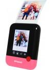 Aparat Foto Instant Polaroid POP, Ecran LCD 3.97 inch, Rezolutie 20 MPx, Video 1080p, Wireless, Bluetooth, Imprimare 3x4 inch, Tehnologie de Imprimare Zero INK, Roz (Include: Pachet 10 Hartii Foto ZINK)