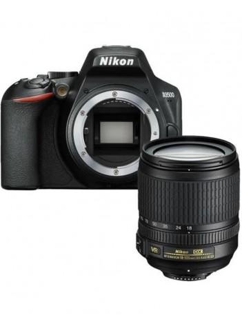 Nikon D3500 cu Obiectiv 18-105mm AF-S VR  Negru