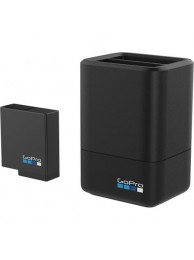 Incarcator si Acumulator Gopro Dual Battery Charger + Battery pentru Hero5/6/7 Black Edition