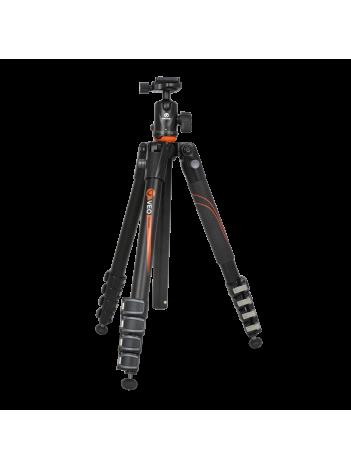 Trepied Foto Vanguard VEO 265AB, Compact, Cap Tip Bila TBH-50, Aluminiu (5 Ani Garantie Extinsa)