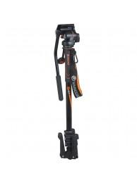 Monopied Vanguard VEO AM-264TV, 3 Picioare Retractabile, Cap Panoramic 2 Directii, Aluminiu (5 Ani Garantie Extinsa)