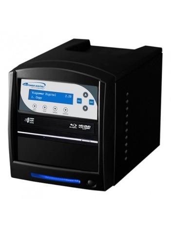 Vinpower Premium Shark Duplicator 1+1 Blu-Ray/CD/DVD tower no HDD, USB 3.0, Unitati Optice Pioneer 12x