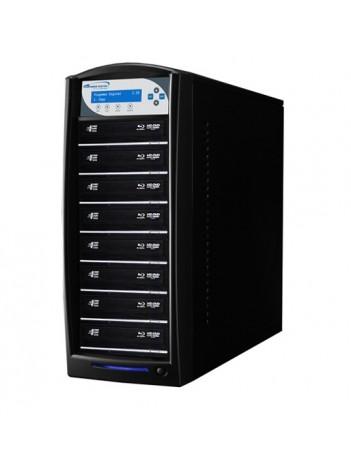 Vinpower Premium Shark Duplicator Hdd+8 Blu-Ray/CD/DVD tower cu HDD 500GB, Unitati Optice Pioneer 12x, USB 2.0