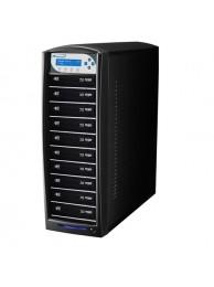 Vinpower Premium Shark Duplicator Hdd+10 Blu-Ray/CD/DVD tower cu HDD 500GB, Unitati Optice Pioneer 12x, USB 2.0