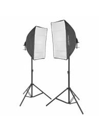 Kit x2 Lampi VL-9026S becuri 10x45W 5500K