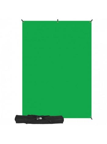 Westcott X-Drop Kit Fundal Verde, 2.1m x 1.5m