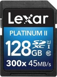 Lexar 128GB SDXC Class 10 UHS-I 45MB/s