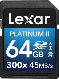 Lexar 64GB SDXC Class 10 UHS-I 45MB/s