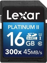 Lexar 16GB SDHC Class 10 UHS-I 45MB/s