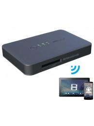Card Reader Wireless PNY, PowerBank 2000mAh, Negru