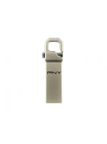 PNY Flash USB 3.0 Hook Attache 16GB, Constructie Metal