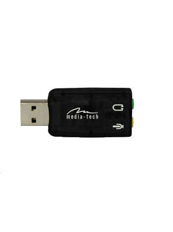 Placa de Sunet Media-Tech VIRTU 5.1 USB