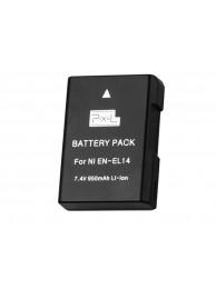 Acumulator Pixel EN-EL14 - acumulator replace tip Nikon EN-EL14