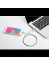 Cablu PNY Lightning 1.2m, Argintiu, Impletit