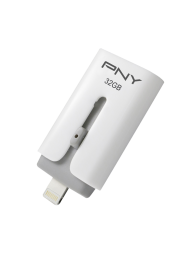 PNY Flash Duo-Link pentru iPhone si iPad, 32GB, USB 2.0