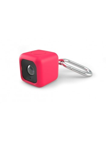 Polaroid Pendent - Carcasa cu Snur pentru Polaroid Cube Rosu