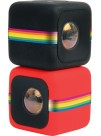 Polaroid Cube - Camera Video de Actiune pentru Sporturi, HD 1080p, Rosu