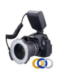 Blitz Polaroid Macro Circular cu 48 LED-uri universal