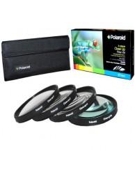 Set 4 filtre Macro Polaroid (+1,+2,+4,+10) 72mm, include Husa protectie