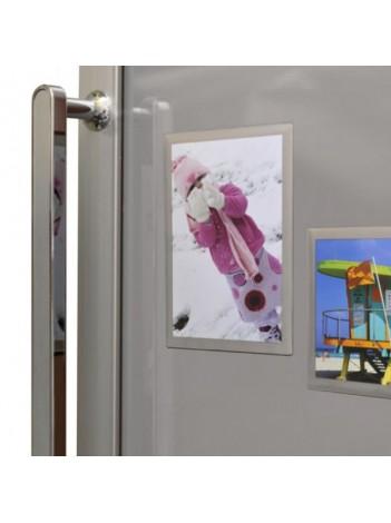 Magnet Frigider Adventa cu insertie fotografie 10x15 cm, Bulk