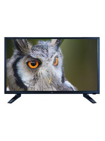 "Televizor Dual LED FHD 24"", Slim, 1920x1080 DLED, Timp de Raspuns 5ms, Multimedia 2x3W, HDMI, Negru"